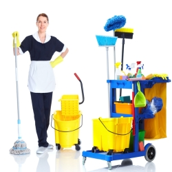 Personal services, cleaning