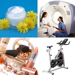 Medicine, health, beauty and sports services